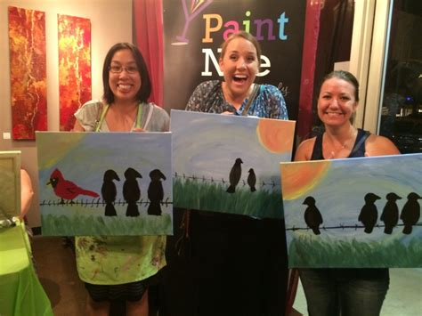 Paint Nite Brings Friends Together