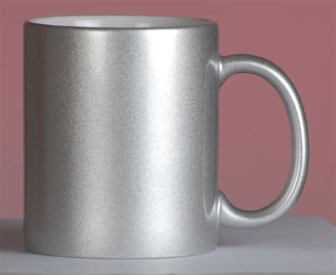 Coffee Mugs silver     Personalizing at Dubai   tshirt printing ,coffee mug printing, metal