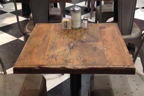dining table top reclaimed wood bar table toprestaurant