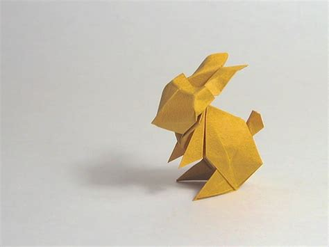 how to make a bunny origami easter origami rabbit jun maekawa