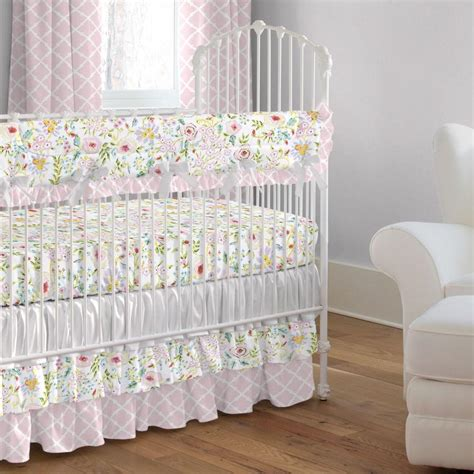 and grey crib bedding pink and gray primrose crib bedding carousel designs