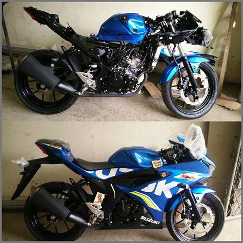 Modifikasi Cafe Racer Monoshock by Modifikasi Suzuki Gsx R 150 Cafe Racer Remcakram