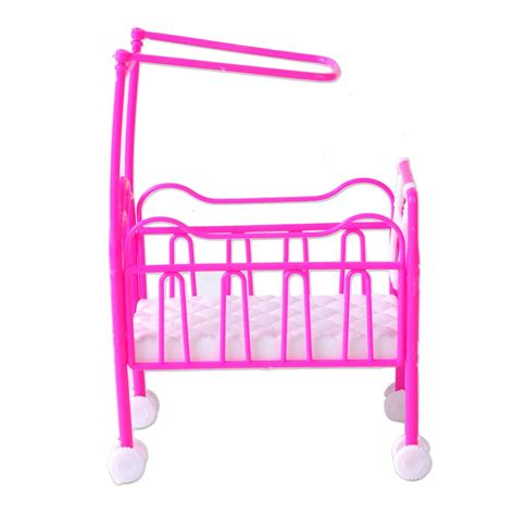 infant bedroom furniture plastic infant baby cradle bed dollhouse bedroom furniture
