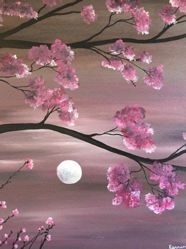 paint nite with best 25 cherry blossom painting ideas on