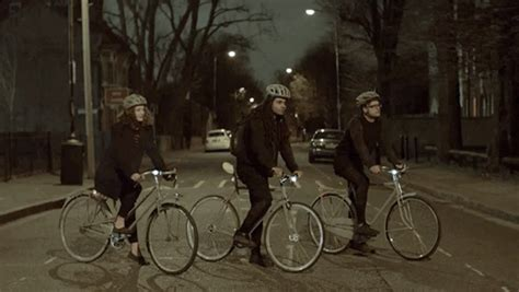 glow in the paint volvo volvo creates a glow in the paint to save cyclists