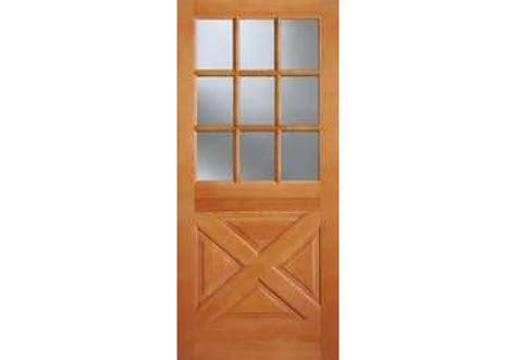 9 light exterior door ab2035 vertical grain douglas fir exterior 9 lite top