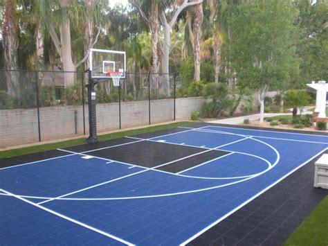 basketball half court dimensions backyard best 25 backyard basketball court ideas on