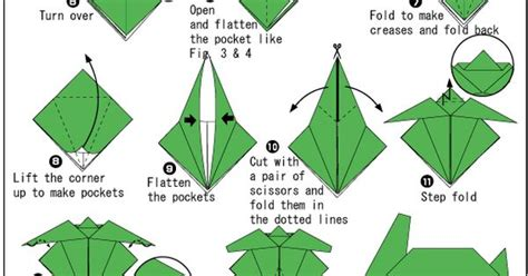 origami sea turtle steps on how to fold a turtle origami