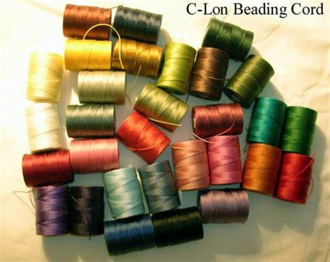 thread a bead bead line studios c lon beading thread cord