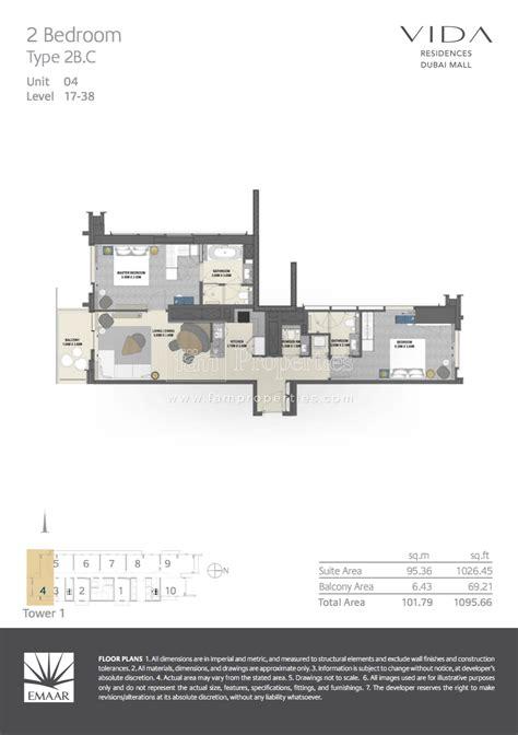 dubai mall floor plan floor plans vida residences dubai mall downtown dubai