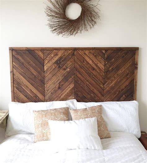 woodworking headboard best 25 herringbone headboard ideas on spare