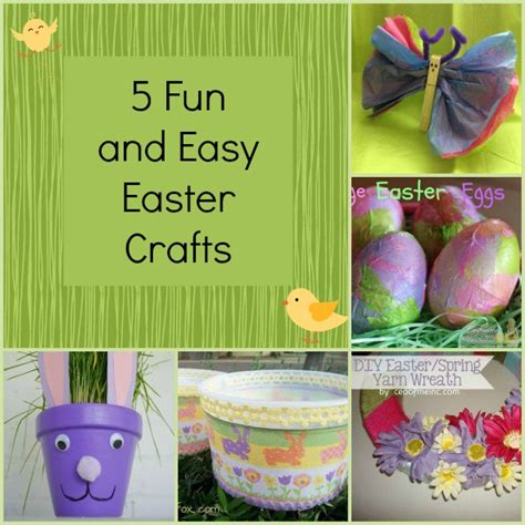 easy easter crafts pin easy easter crafts on