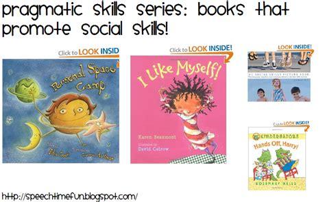 the social skills picture book pragmatic skills series books that promote social skills