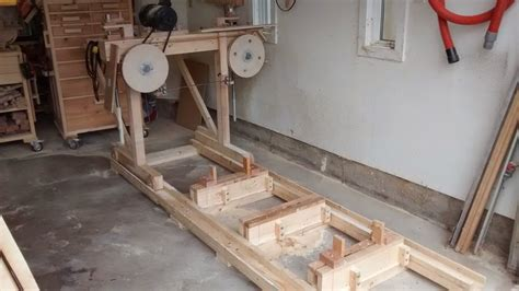 woodworking mill bandsaw mill by geekwoodworker lumberjocks