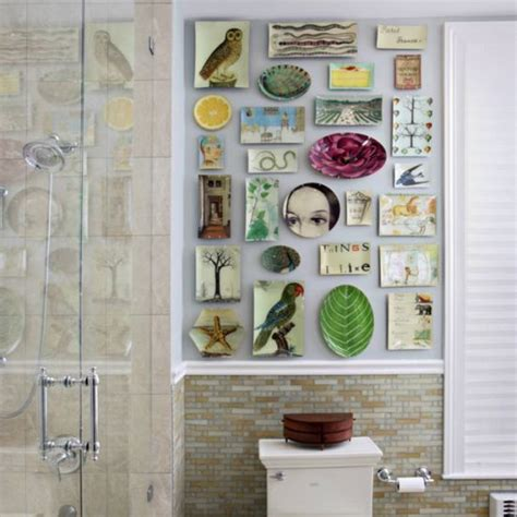 bathroom wall decoration ideas 15 unique bathroom wall decor ideas ultimate home ideas