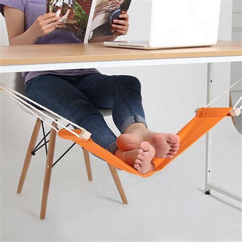 office food portable mini office foot rest stand desk hammock