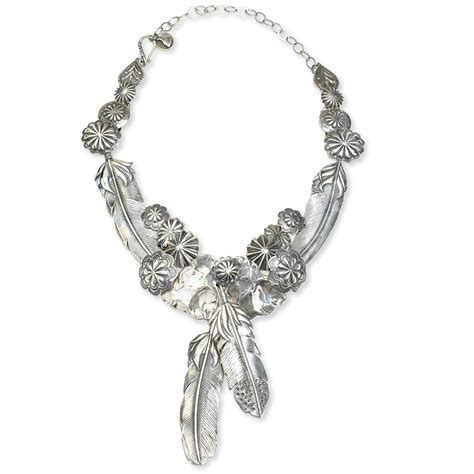feathers for jewelry silver feather necklace horses heels