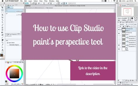 paint tool sai perspective ruler clip studio paint perspective tool videotutorial by