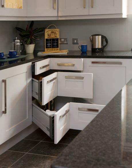 kitchen corner unit contemporary kitchen storage systems