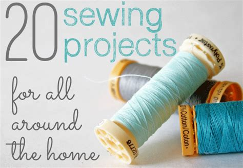 sewing craft for 20 sewing projects for all around the house the shabby