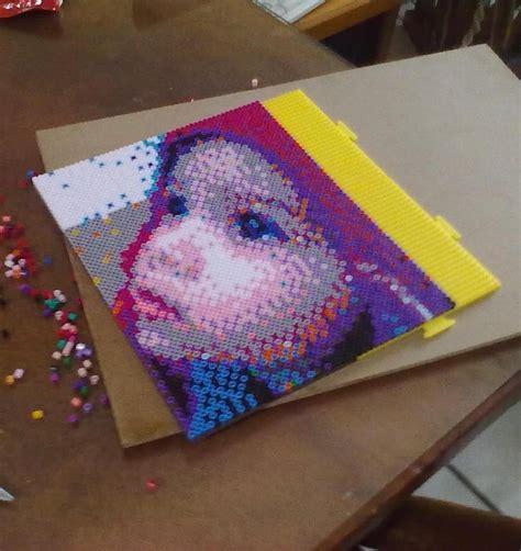 perler bead pictures perler portrait photo by darthmagician on deviantart