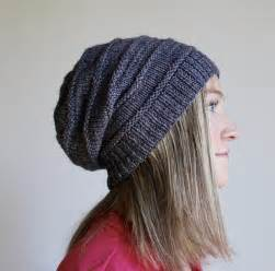 pattern for knitted slouch hat free pattern friday favorite knit slouchy hat by