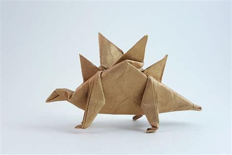 origami stegosaurus stegosaurus takai hiroaki gilad s origami page