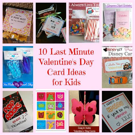 card ideas for children 10 last minute s day card ideas for the