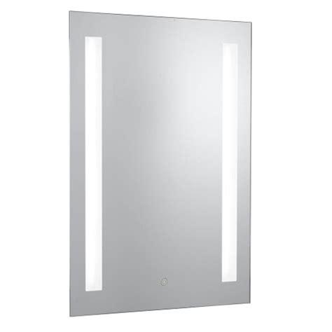 bathroom mirror built in light rectangle bathroom mirror with built in lights 20444