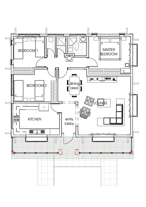 house plans with large bedrooms house plans in kenya 3 bedroom bungalow house plan david chola architect