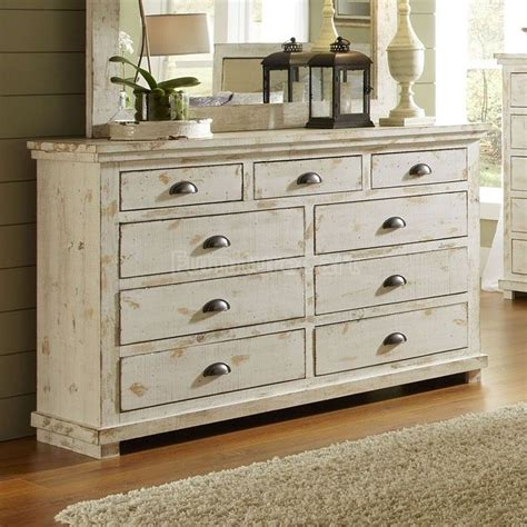 distressed white bedroom furniture willow drawer dresser distressed white flip it