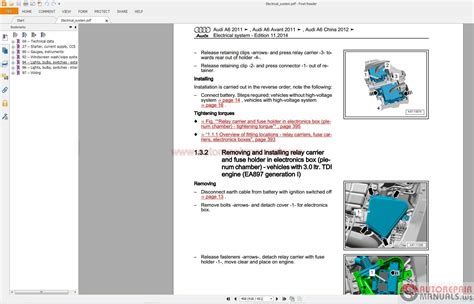 free service manuals online 2009 audi a4 windshield wipe control audi a6 2012 2015 service repair manual pdf auto repair manual forum heavy equipment forums