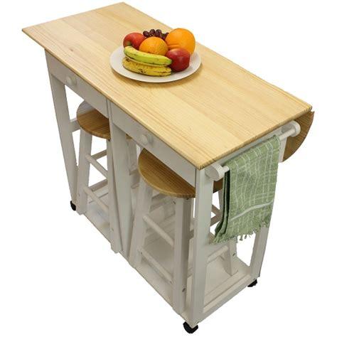 folding kitchen table maribelle folding table and stool set kitchen breakfast