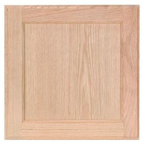 unfinished cabinet doors home depot 12 75x14 in cabinet door sle in unfinished oak