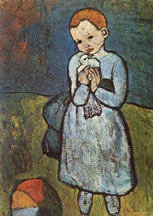 picasso paintings child with a dove pin by ᕼɛℓɛηᗩ costᗩ φ on picᗩsso blue