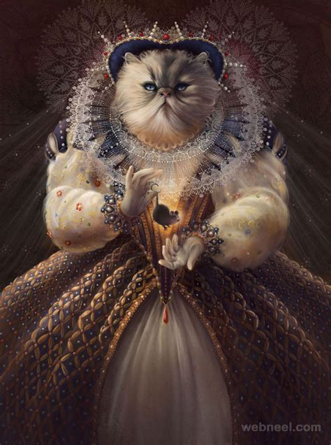 cat painting photos 30 beautiful cat drawings best color pencil drawings and
