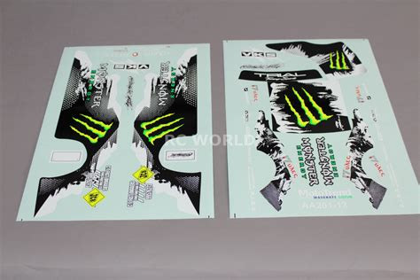 Monster Energy Sticker Truck by Rc Car Truck Racing Drift Decals Stickers Monster Energy