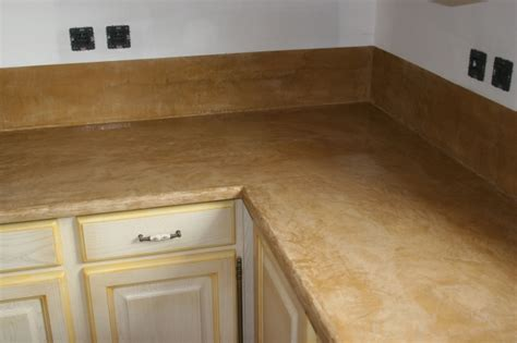beton cire plan de travail cuisine aulnay sous bois design