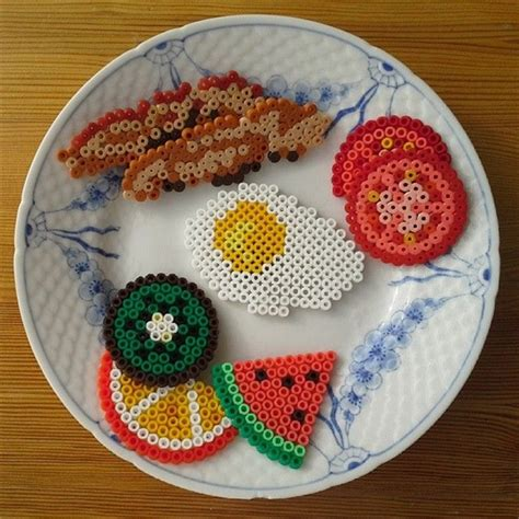 hama food 13 lovely hama bead designs for summer collections of