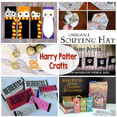 harry potter crafts for harry potter crafts the crafting