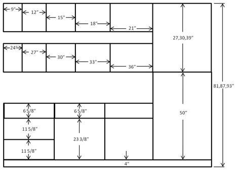 standard kitchen cabinet width kitchen cabinet size chart kitchen design photos