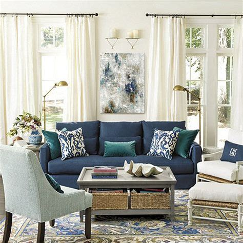 blue couches living rooms best 20 navy blue couches ideas on