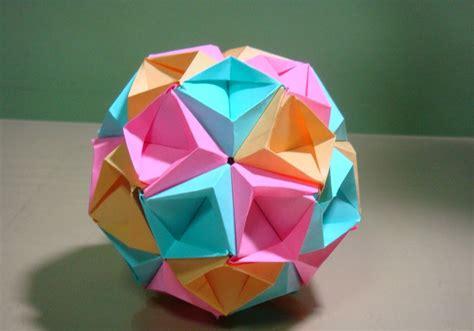 origami kusudamas origami maniacs origami sea kusudama by tomoko fuse