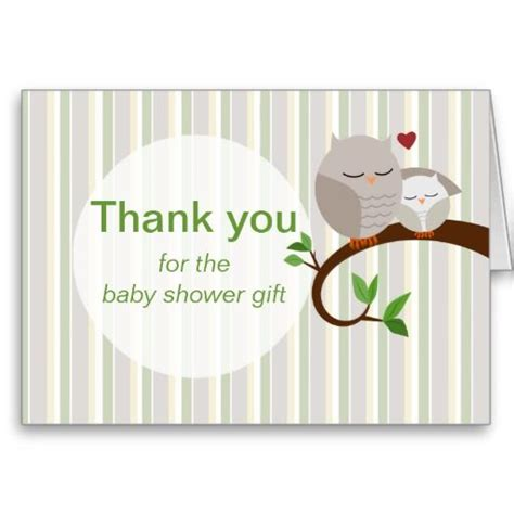 make your own baby shower cards a hoot of a baby shower owls thank you greeting cards
