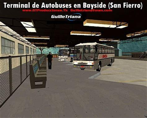 terminal lance ultimate omnibus gta san andreas terminal de autobuses en bayside san