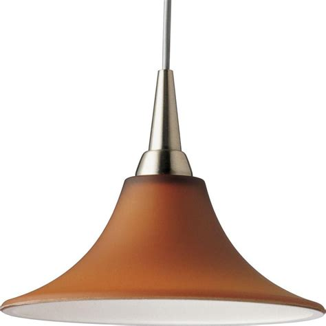 pendant light home depot progress lighting illuma flex collection brushed nickel 1