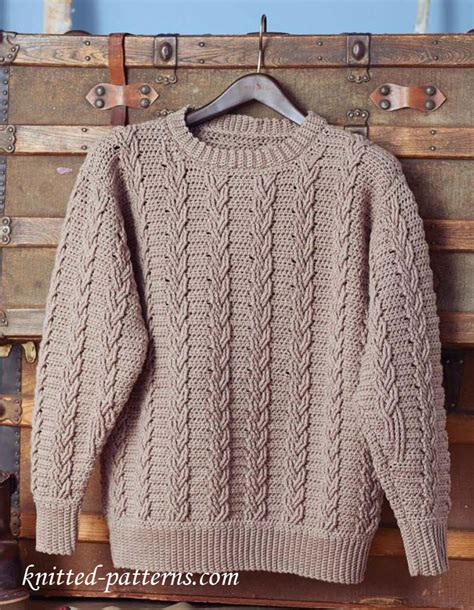 free knitting patterns for mens cardigan sweaters s crochet sweater pattern free
