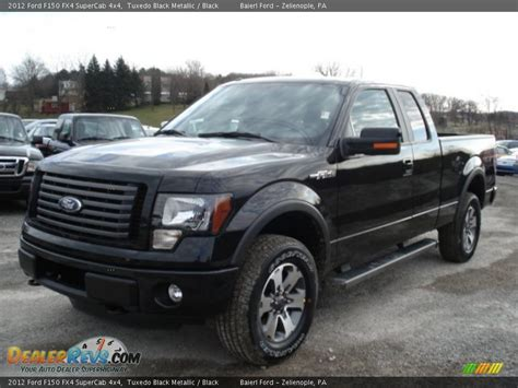 2012 Ford F150 Fx4 by 2012 Ford F150 Fx4 Supercab 4x4 Tuxedo Black Metallic