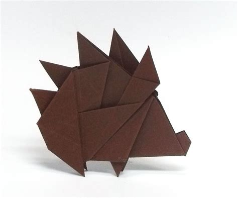 origami hedgehog the world s best photos of hedgehog and origami flickr