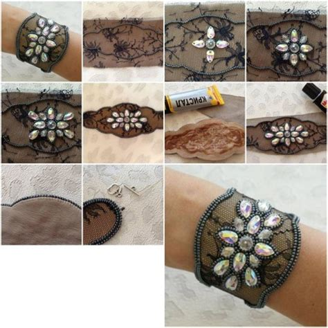 how to make lace jewelry how to make lace and bracelet step by step diy